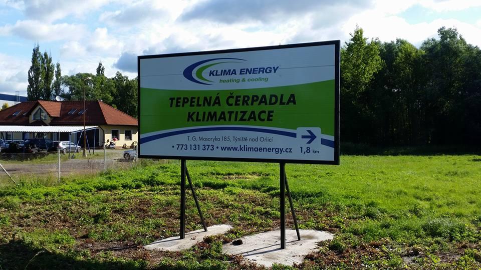 KLIMA ENERGY BILLBOARD
