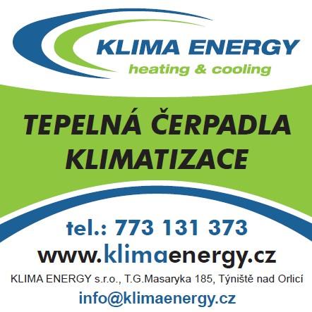 KLIMA ENERGY TEPELNÁ ČERPADLA