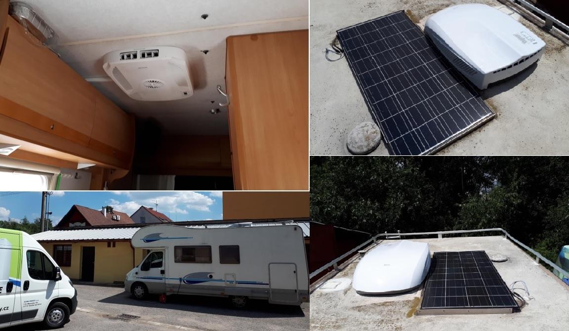 klimatizace karavan